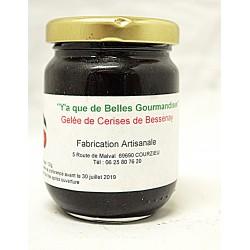 Gourmandise à la cerise de Bessenay (Gelée allégée en sucre)