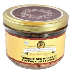 Terrine des Monts et Coteaux du Lyonnais 180g