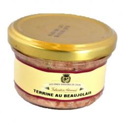 Terrine au Beaujolais 90g - Saveurs de Lyon