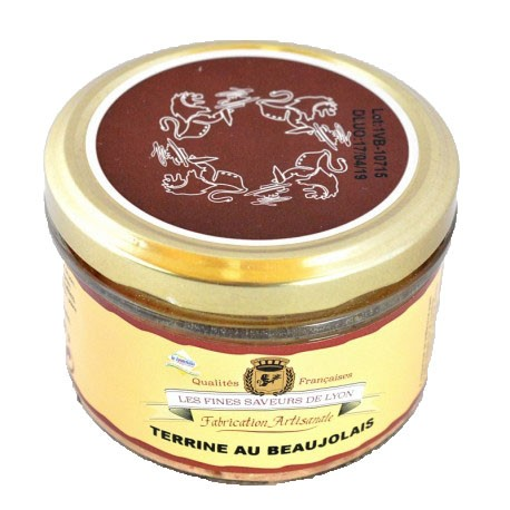 Terrine au Beaujolais 180g - Mirvine