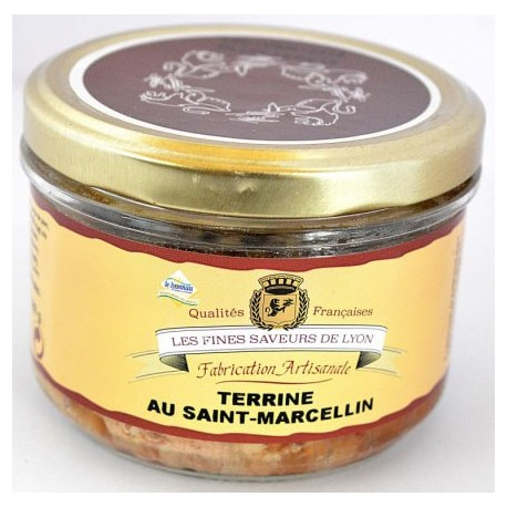 Terrine au Saint Marcellin 180g - Mirvine