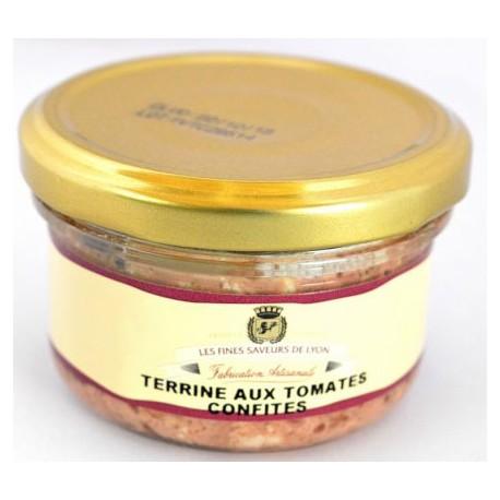 Terrine aux tomates confites 90g - Mirvine