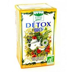 Tisanes Detox BIO boite 20 sachets - Romon Nature