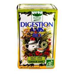 Tisanes digestion anis BIO, 20 sachets - Romon Nature