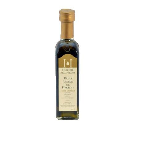 Huile vierge de pistache 10 cl - Huilerie Beaujolaise