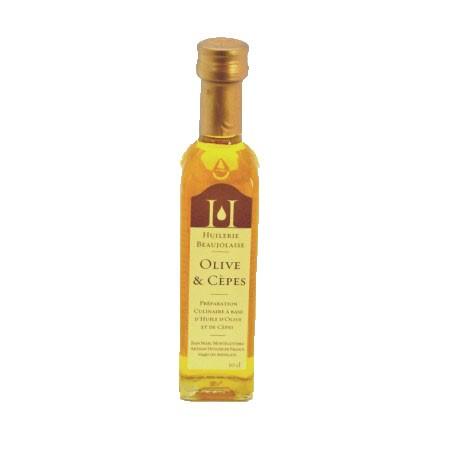 Huile d'olives et cèpes 10cl - Mirvine