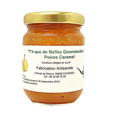 Gourmandises poire-caramel