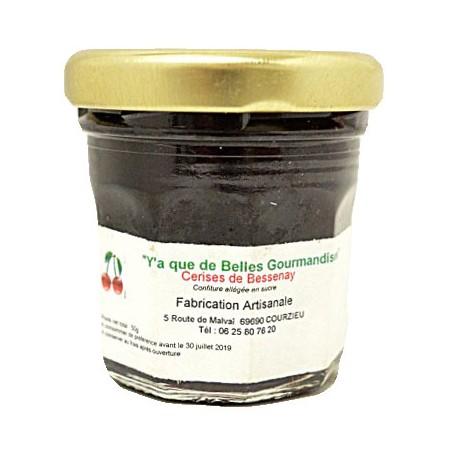 Gourmandise à la cerise de Bessenay (Confiture allégée en sucre)