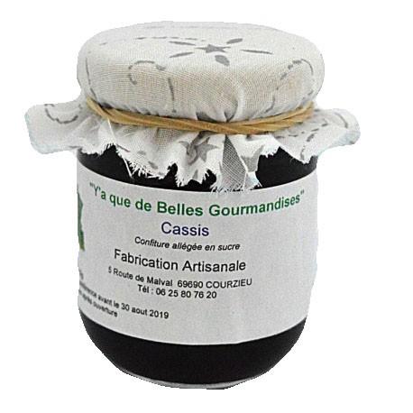 Gourmandise au cassis de Bourgogne (Confiture allégée en sucre)