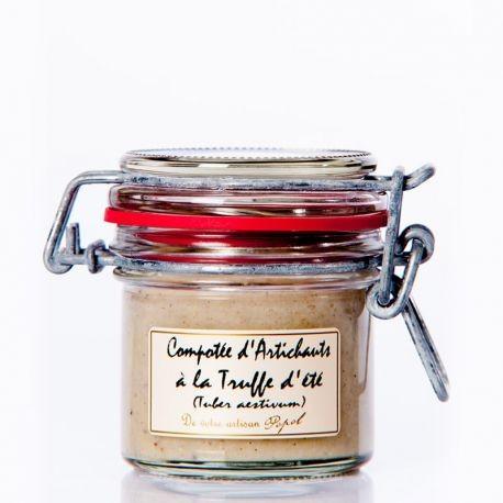 Compotée d'artichauds à la truffe d'été 90g