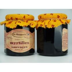 Confiture de myrtilles sauvages 325g