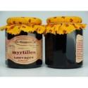 Confiture de myrtilles sauvages - La Roumanière