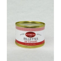 Rillettes pur canard 65g