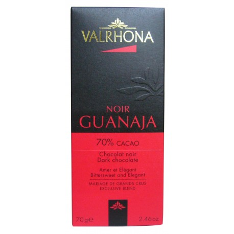 Tablette VALRHONA GUANAJA 70%