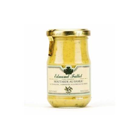 Moutarde au basilic 10cl