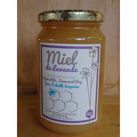 """Miel de Lavande """"l'Abeille Turquoise"""" 500g"""