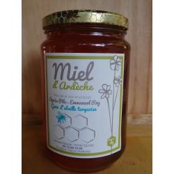 """Miel d'Ardèche """"L'Abeille Turquoise"""" 1kg"""