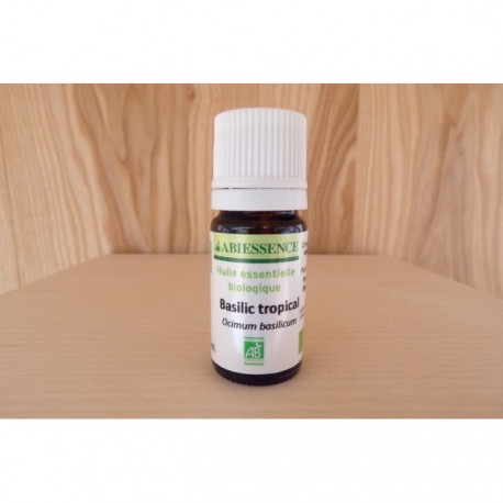 Huile essentielle Basilic tropical 5ml
