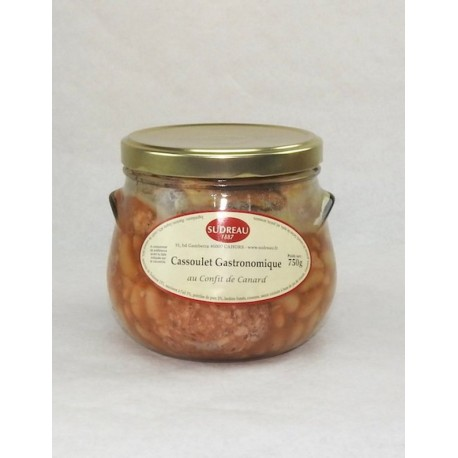 Cassoulet gastronomique au confit de canard  Sudreau - Mirvine