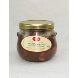 Mirvine : Civet d'oie aux cèpes Sauce au vin de Cahors