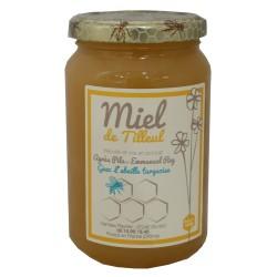 """Mirvine : Miel de Tilleul """"L'Abeille Turquoise"""" 500 g"""