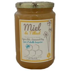 """Mirvine : Miel de Tilleul """"L'Abeille Turquoise"""" 1kg"""