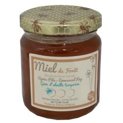 """Mirvine : Miel de Forêt """"L'Abeille Turquoise"""" 250g"""