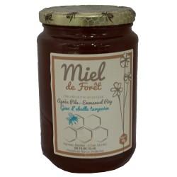 """Mirvine : Miel de Forêt """"L'Abeille Turquoise"""" 1kg"""