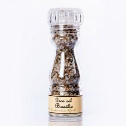 Mirvine : sel au basilic