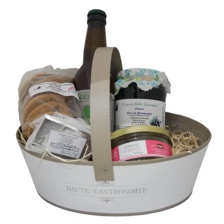Mirvine : Panier Gourmand spécialités Rhône-Alpes