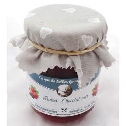 Mirvine : Fraise Chocolat valrhona