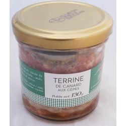 Terrine de canard aux cèpes 130g - Mirvine
