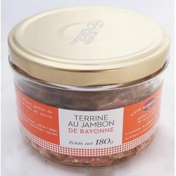 Mirvine : Terrine au Jambon de Bayonne
