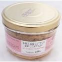Rillettes de cochon au jambon de Bayonne 180g - Sudreau