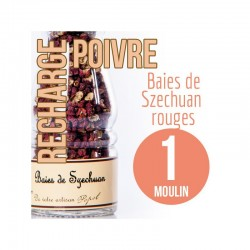 Mirvine : Poivre Szechuan Baies rouges