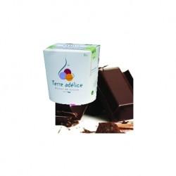 Mirvine : Sorbet chocolat noir bio Terre Adélice