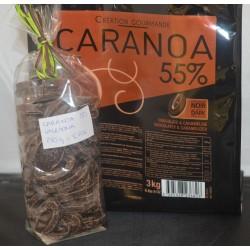 Chocolat VALRHONA CARANOA 55%