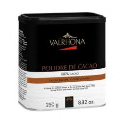 Mirvine : Cacao en poudre Valrhona