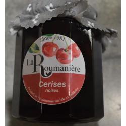 Confiture de cerises noires - La Roumanière