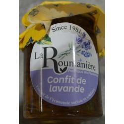 Confit de lavande - La Roumanière