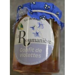 Confiture de violette - La Roumanière