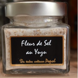 Mirvine : fleur de sel au Yuzu - Popol