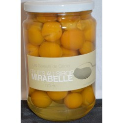 Mirvine : Mirabelles au sirop