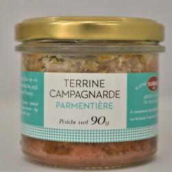 Terrine campagnarde parmentière 90g - Sudreau