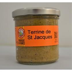 Terrine à la Saint Jacques de la Maison Roque à Collioure