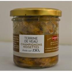 Terrine de Veau Champignons et noisettes 130g - Sudreau