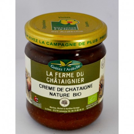 creme de chataigne nature