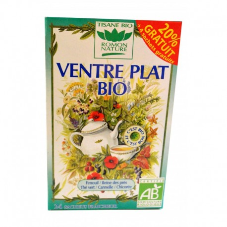 TISANE VENTRE PLAT BIO ROMON NATURE