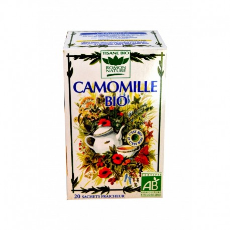 TISANE CAMOMILLE BIO ROMON NATURE