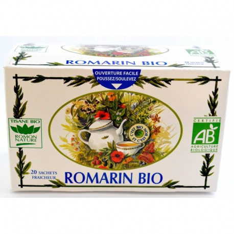 TISANE ROMARIN BIO ROMON NATURE